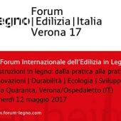 6° Forum Internazionale dell'edilizia in legno