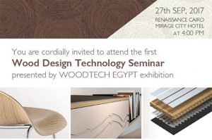 [:it]Wood Design Technology Seminar[:en]Wood Design Technology Forum[:] @ Renaissance Cairo Mirage City Hotel