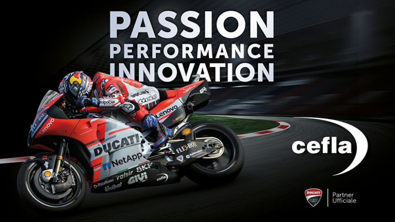 Cefla Becomes An Official Partner Of Ducati Corse Xylon Website