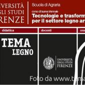 """""""Tema Legno"""": a Firenze il nuovo corso di laurea per formare tecnici e professionisti del legno"""