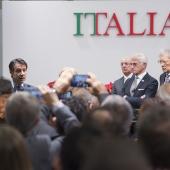 Prime Minister Giuseppe Conte meets Italian technology