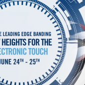 """""""On the leading edge banding: new heights for the electronic touch"""": il nuovo evento SCM"""